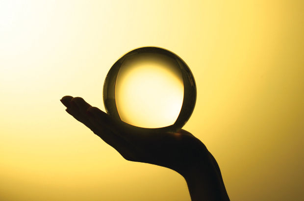 A crystal ball?