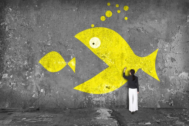 Why being a small fish is bad—unless insurtech can save you