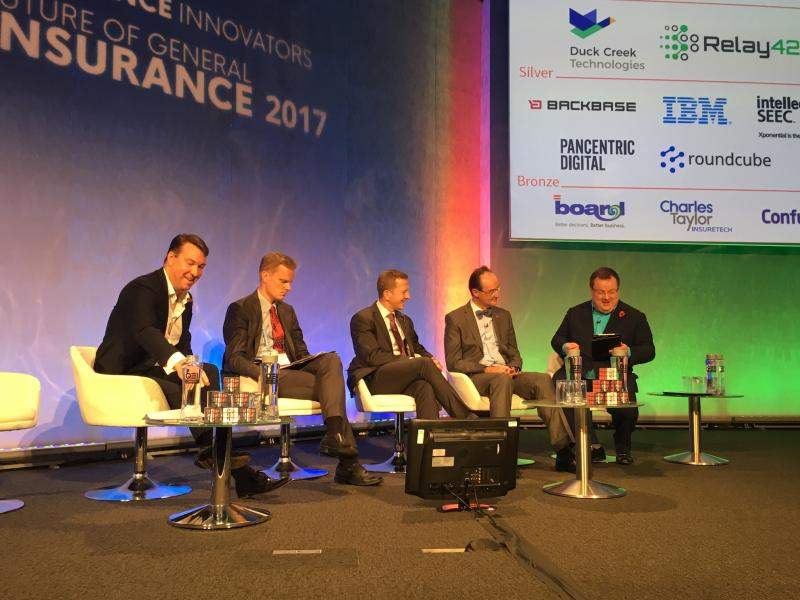 Insurance CEOs debate technological challenges