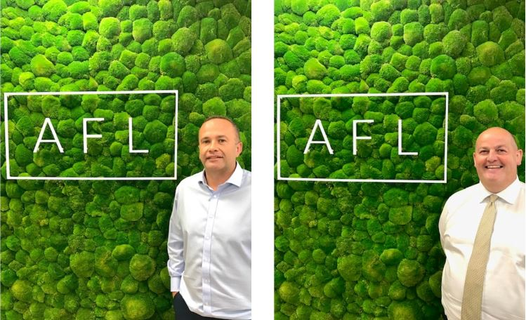 AFL taps UIB senior brokers Ritson and Draper to lead property and energy expansion