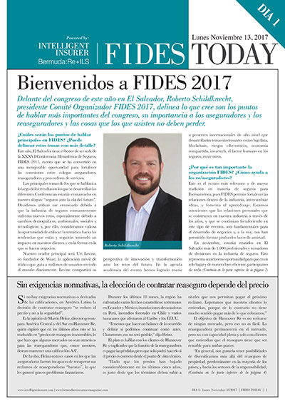 FIDES 2017 - Day One