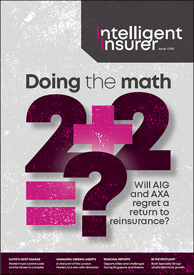 Intelligent Insurer Issue 1 2018
